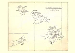 MAP OF THE HAWAIIAN ISALNDS